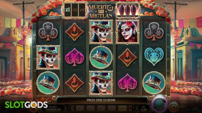 Muerto En Mictlan Online Slot by Playn GO Screenshot 1