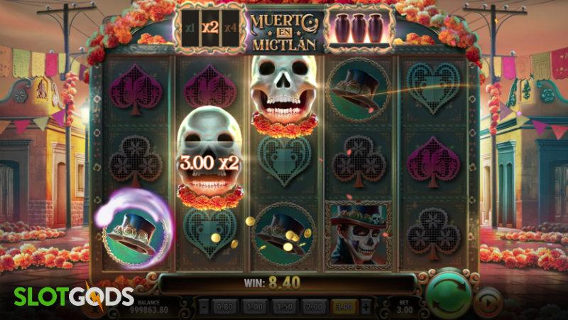 Muerto En Mictlan Online Slot by Playn GO Screenshot 2