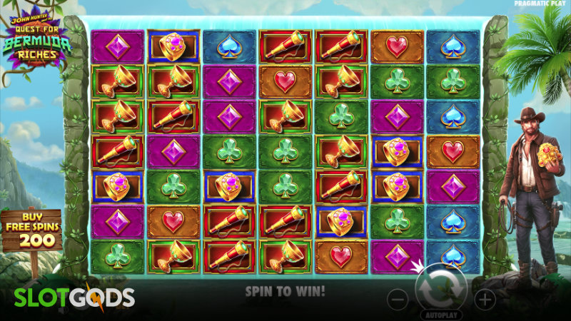 John Hunter and the Quest for Bermuda Riches Online Slot by Pragmatic Play