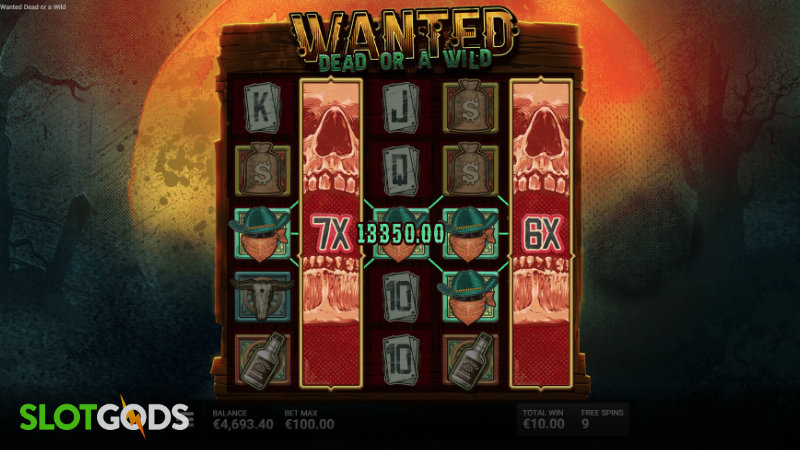 Wanted Dead or a Wild Slot - Screenshot 2