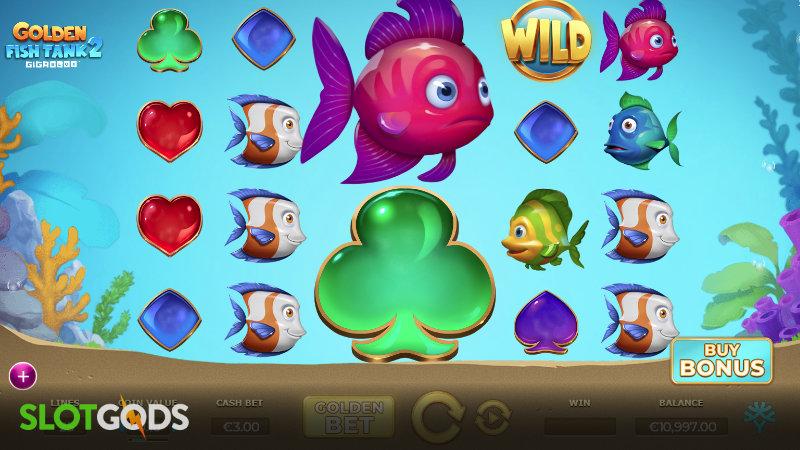 Golden Fish Tank 2 Gigablox Online Slot by Yggdrasil