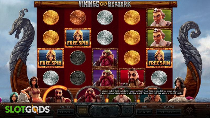 Vikings Go Berzerk Online Slot by Yggdrasil